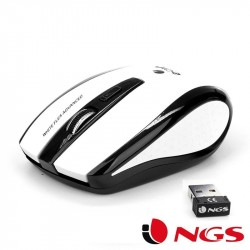 Rato Wireless NGS FLEA WHITE ADVANCE