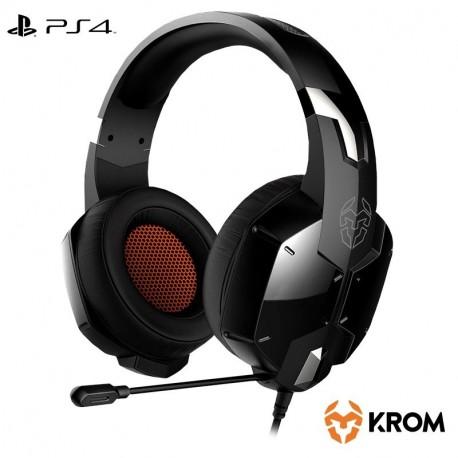 Auscultador estéreo para PC Krom Kopa (+ Adapt. PS4)