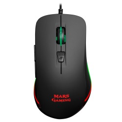 Rato MARS GAMING 9.800 DPI, chroma RGB lighting, 6 buttons-MM118