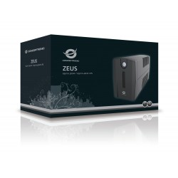 UPS Conceptronic 650Va 360W Ups, Schuko Socket - Zeus01Es