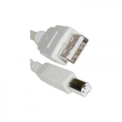 Cabo USB Tipo A Macho a USB Tipo B Macho