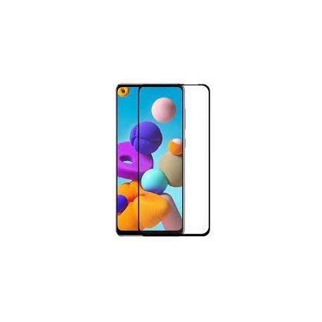 Pelicula Vidro Temperado Samsung A217 Galaxy A21s (Full 3D Negro)