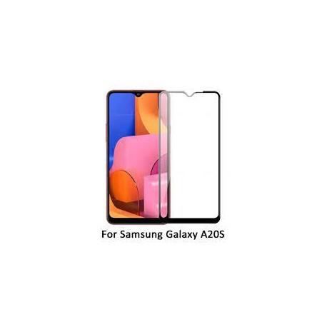 Película Vidro Temperado Samsung A207 Galaxy A20s (Full 3D Negro)