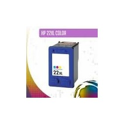 HP 22XL Reciclado Cores