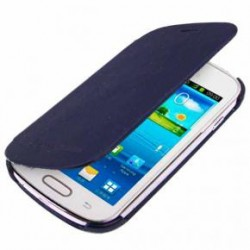 Flip Cover para Samsung Galaxy S3 Mini Azul