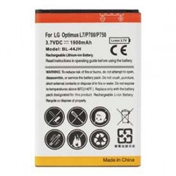 Bateria Compativél LG BL-44JH Optimus L7 / L5 II