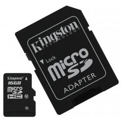 Cartão Micro SD Kingston 16GB