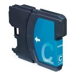 Tinteiro Compatível Brother LC980C / 1100C Azul