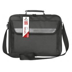 """Mala TRUST Atlanta Carry Bag para 17.3"""" Notebook Preto"""
